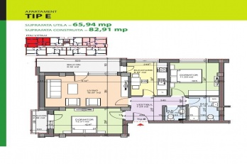 Drumul Gura Putnei 143-147, Bucharest, 2 Bedrooms Bedrooms, 3 Rooms Rooms,2 BathroomsBathrooms,Apartament,De vanzare,Drumul Gura Putnei 143-147, Bucharest,1195