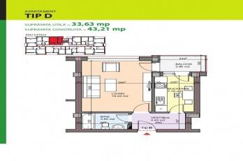 rumul Gura Putnei 143-147, Bucharest, 1 Bedroom Bedrooms, 1 Room Rooms,1 BathroomBathrooms,Apartament,De vanzare,rumul Gura Putnei 143-147, Bucharest,1196
